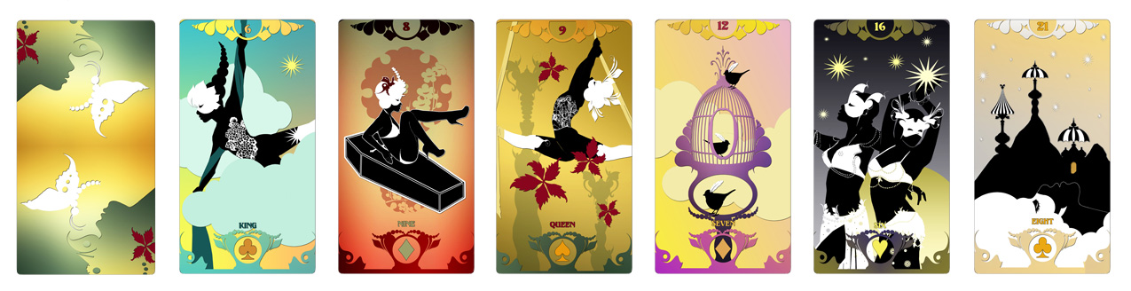 Attic Cartomancy - The Butterfly Circus Lenormand
