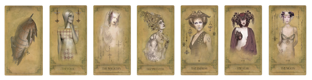 Attic Cartomancy - The Sepia Stains Tarot Deck