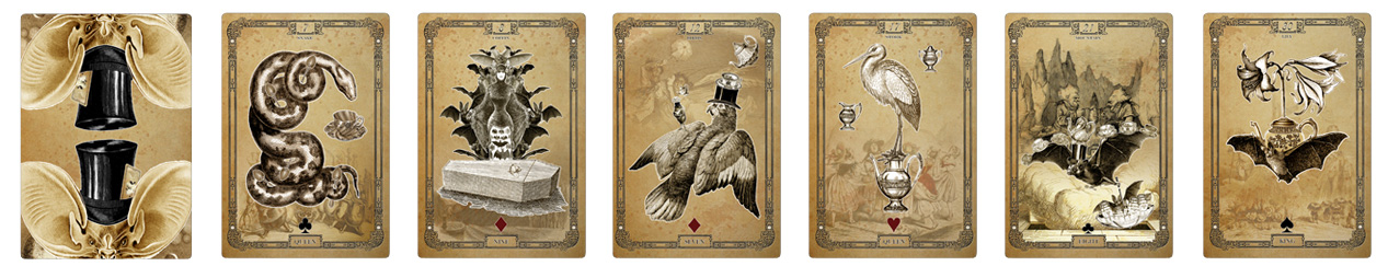 Attic Cartomancy - The Tea Bats Lenormand