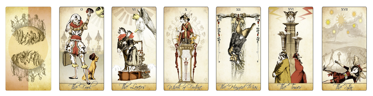 Attic Cartomancy - The Isidore Tarot