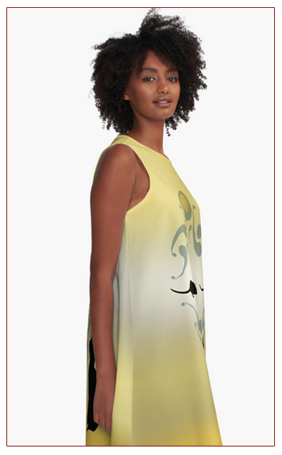RedBubble Monday The Butterfly Circus A Line Mouse Dress