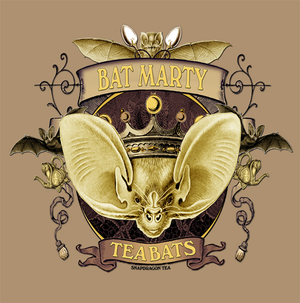 Tea Bats Bat Marty