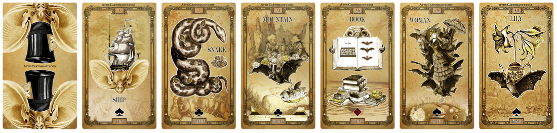 Tea Bats Lenormand Sale