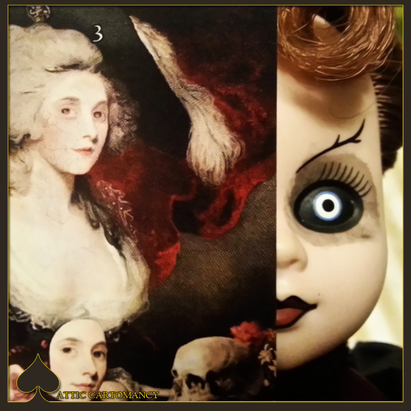 Attic Cartomancy - Card of the Day - The Attic Halloween Tarots Empress Card