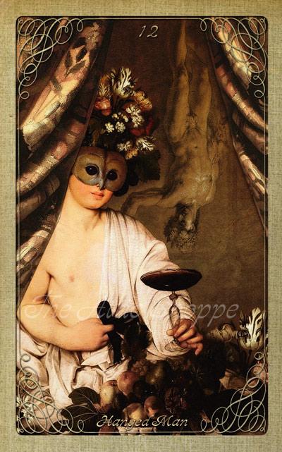 Attic Cartomancy - The Attic Halloween Tarot - The Hanged Man