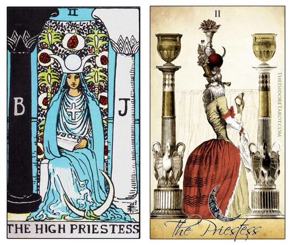 Attic Cartomancy - The Isidore Tarot compared to the Rider Waite Smith Deck