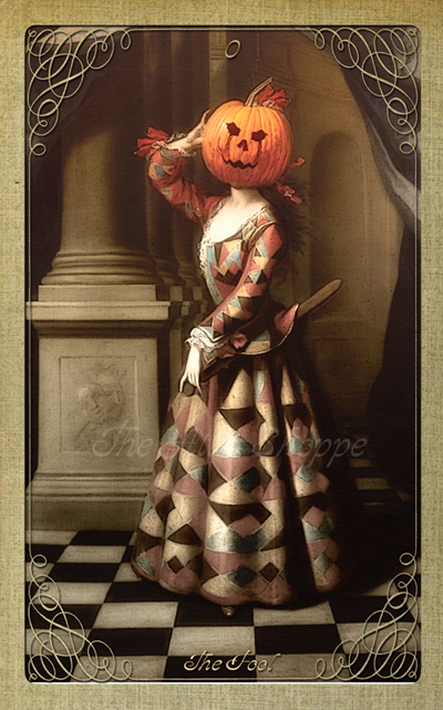 Attic Cartomancy - The Attic Halloween Tarot - The Fool