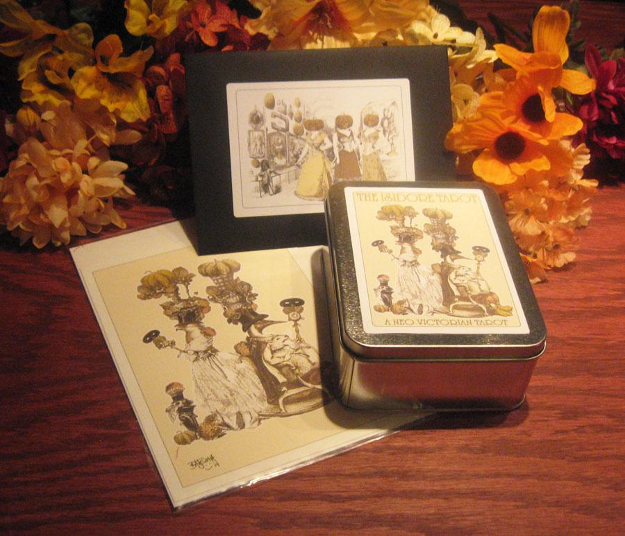 Attic Cartomancy - The Isidore Tarot Autumn Edition