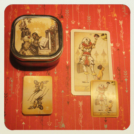 Attic Cartomancy - The Isidore Tarot Mini Tarot