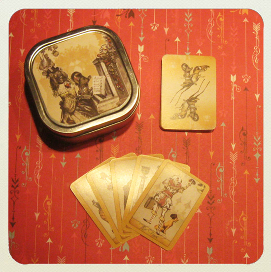 Attic Cartomancy - The Isidore Tarot Mini Tarot