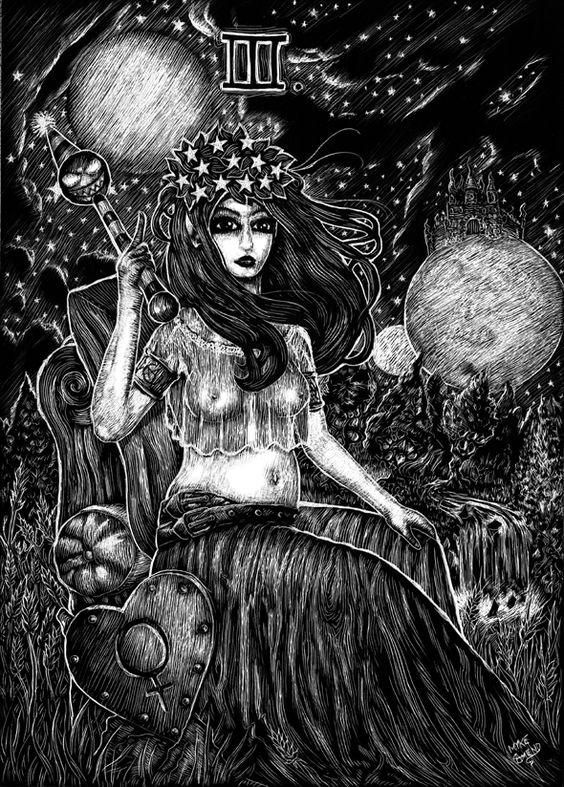 Attic Cartomancy - Myke Amend's Empress