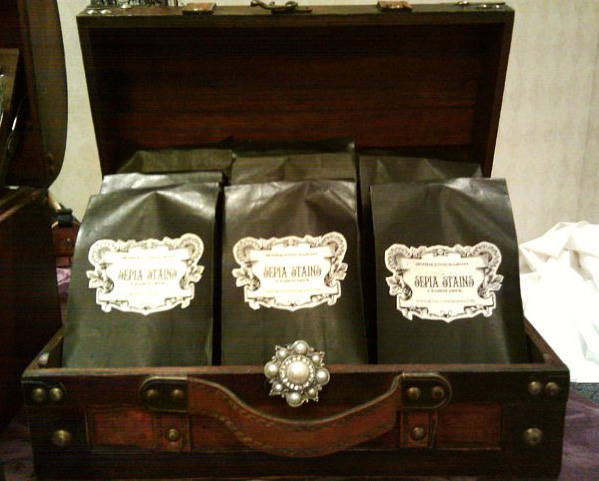 Attic Cartomancy - Original Packaging for The Sepia Stains Tarot