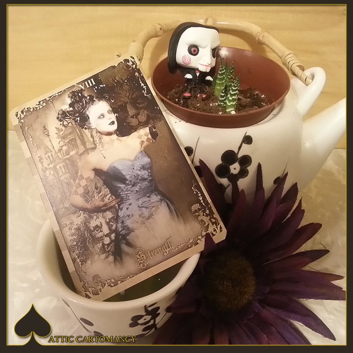 Attic Cartomancy - Card of the Day - The Black Ibis Tarots Strength