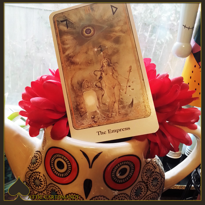 Attic Cartomancy - Card of the Day - Haindl Tarot Empress
