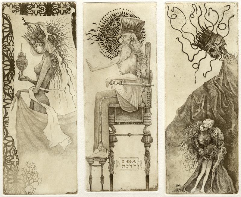 Attic Cartomancy - Beautiful Decks - IONA Tarot
