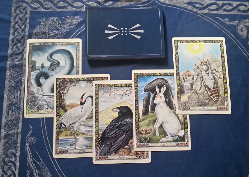 Attic Cartomancy - Beautiful Decks - The Druid Animal Oracle