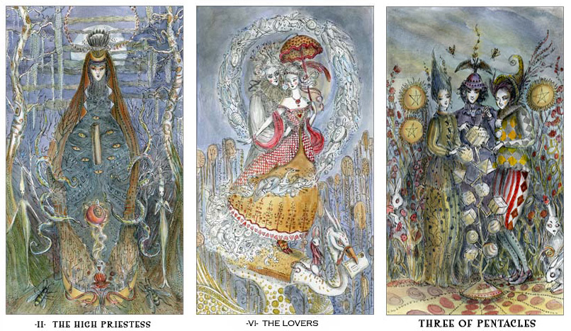 Attic Cartomancy - Beautiful Decks - The Paulina Tarot