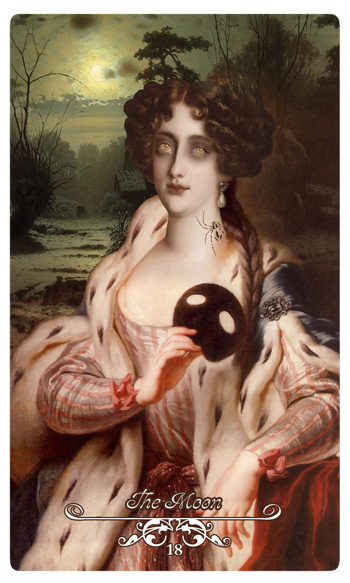 Attic Cartomancy - Februarys Winter Moon and the Eclipse