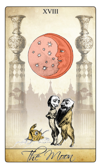 Attic Cartomancy - Februarys Winter Moon and the Eclipse