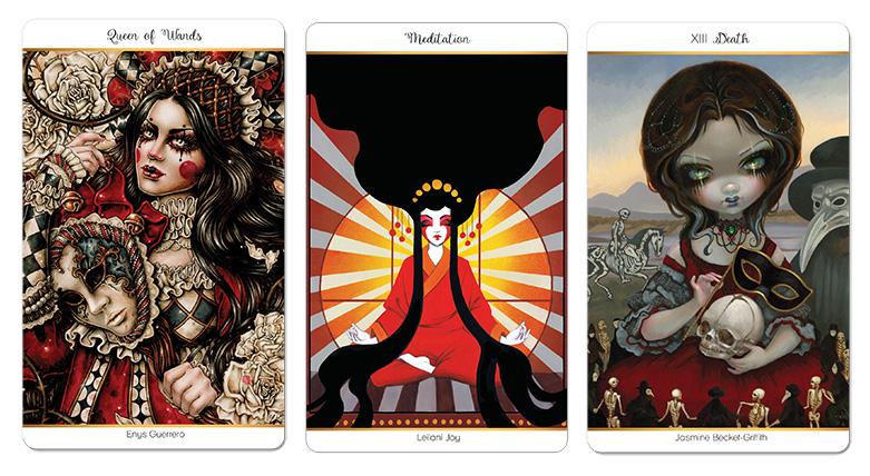 Attic Cartomancy - Beautiful Decks - 78 Tarot Carnival