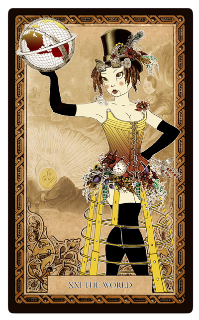 Attic Cartomancy - Bethalynne Bajema - Steampunk Symposum - Automaton Bly Art