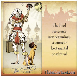Attic Cartomancy - The Isidore Tarot - Pick a Tarot Card