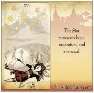 Attic Cartomancy - The Isidore Tarot - Pick a Tarot Card