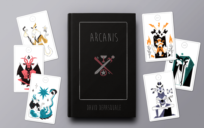 ArCANIS - A Modern Animal Tarot Deck