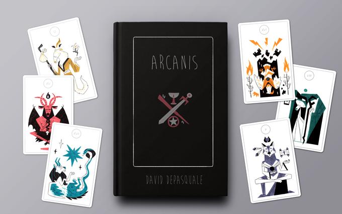 ArCANIS - A Modern Animal Tarot Deck