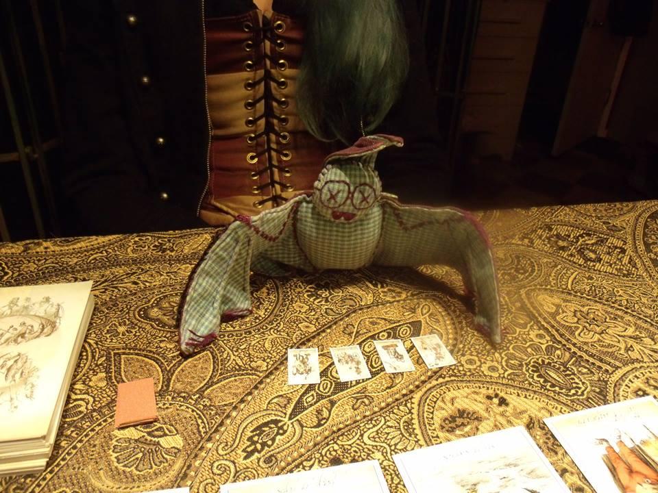 Attic Cartomancy - Little Ricky the Tarot Reading Bat