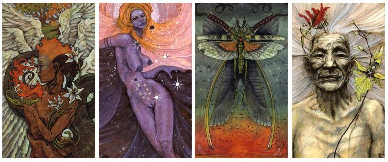 Attic Cartomancy - Beautiful Decks - The Mary-el Tarot