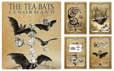 Attic Cartomancy - Lenormand Decks - The Tea Bats Lenormand Deck