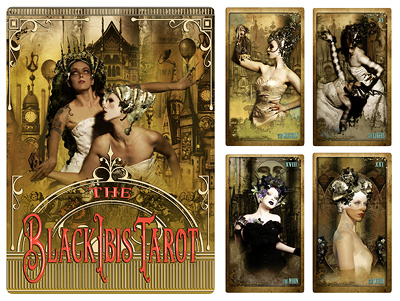 Attic Cartomancy - Tarot Decks - The Black Ibis Tarot