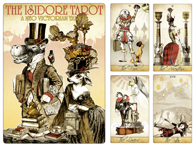 Attic Cartomancy - My Decks - The Isidore Tarot