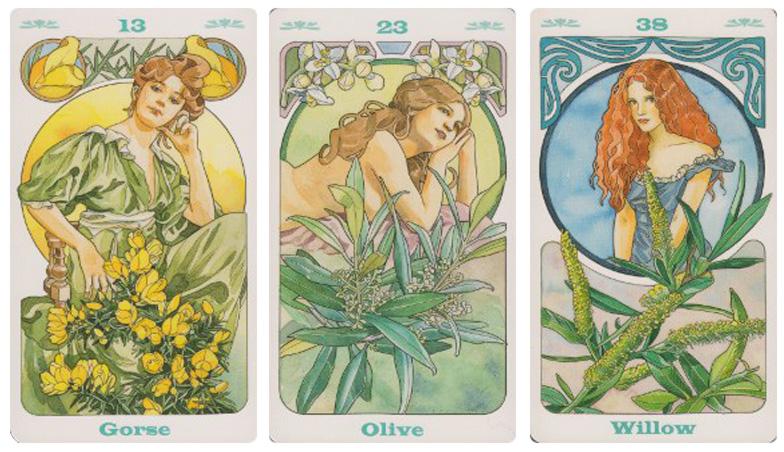 Attic Cartomancy - Beautiful Decks - Bach Flower Inspirational Cards