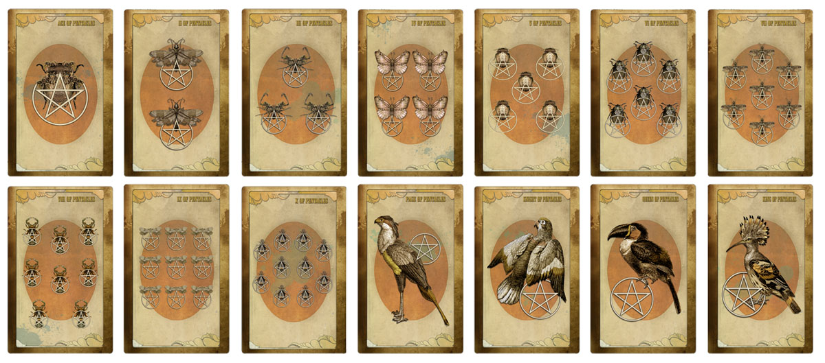 Attic Cartomancy - The Black Ibis Tarot - Third Edition
