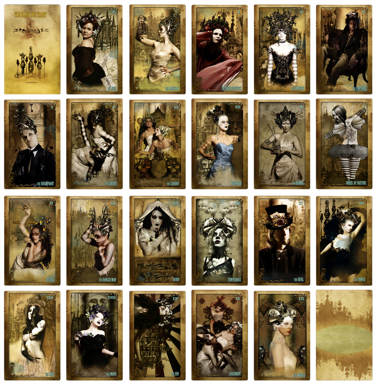 Attic Cartomancy - The Black Ibis Tarot - Third Edition