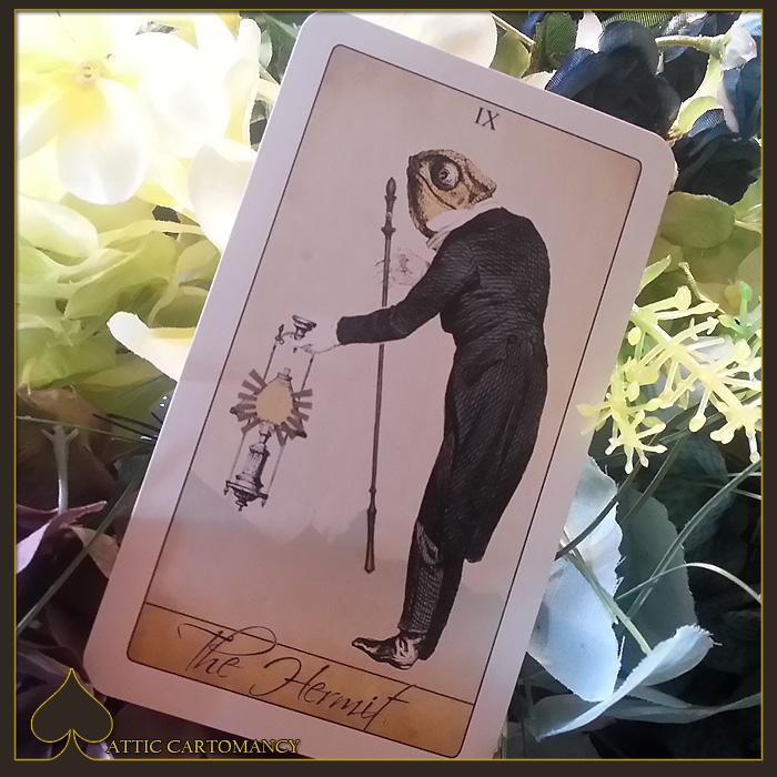 Attic Cartomancy - Card of the Day - The Isidore Tarots Hermit