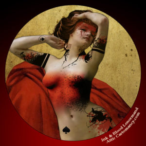 Attic Cartomancy - Ink and Blood Lenormand - 29 Woman