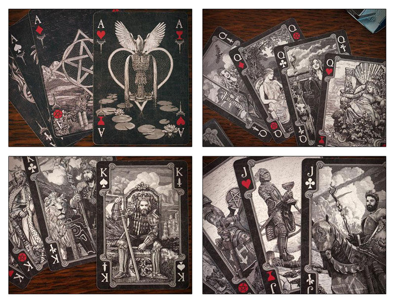 Attic Cartomancy - Beautiful Decks - Arcana Tarot Playing Cards