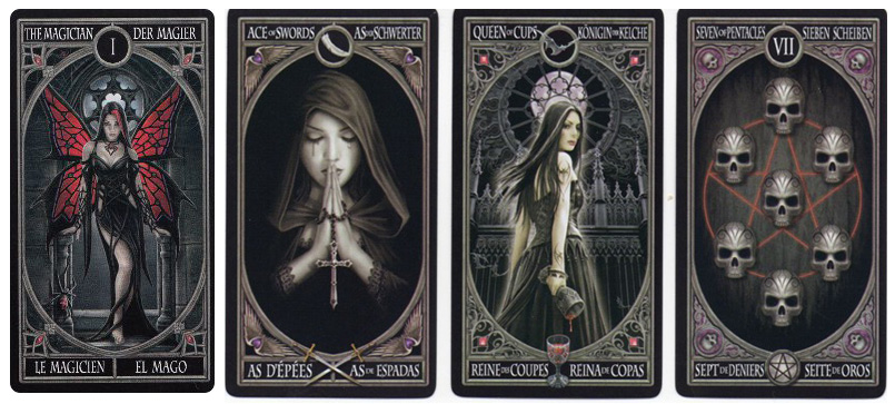 Anne Stokes Gothic Tarot Deck Cards Lo Scarabeo