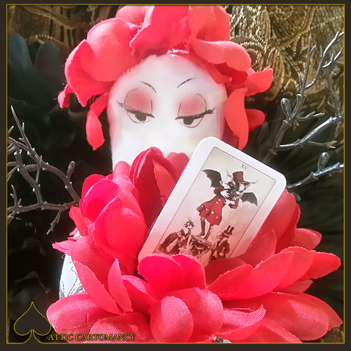 Attic Cartomancy Card of the Day the Isidore Devil