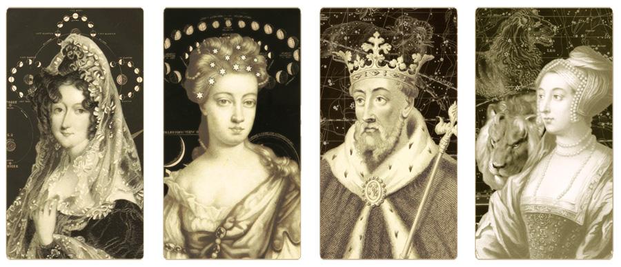 Attic Cartomancy The Unfinished Celestial Royalty Tarot