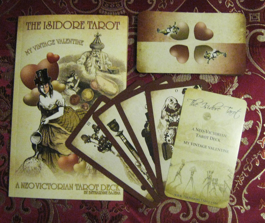 Attic Cartomancy The Isidore Valentine Deck