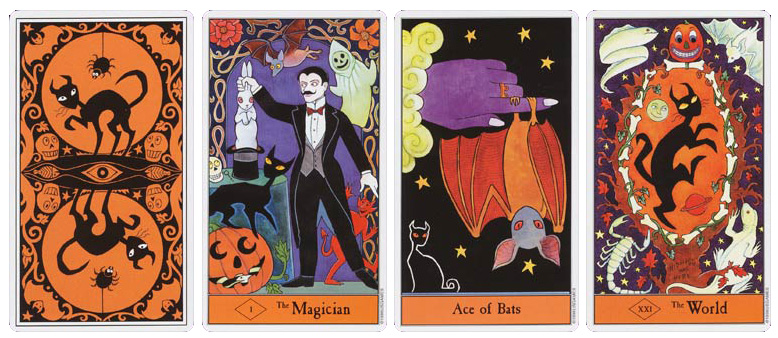 Attic Cartomancy - Beautiful Decks - The Halloween Tarot by Kipling West
