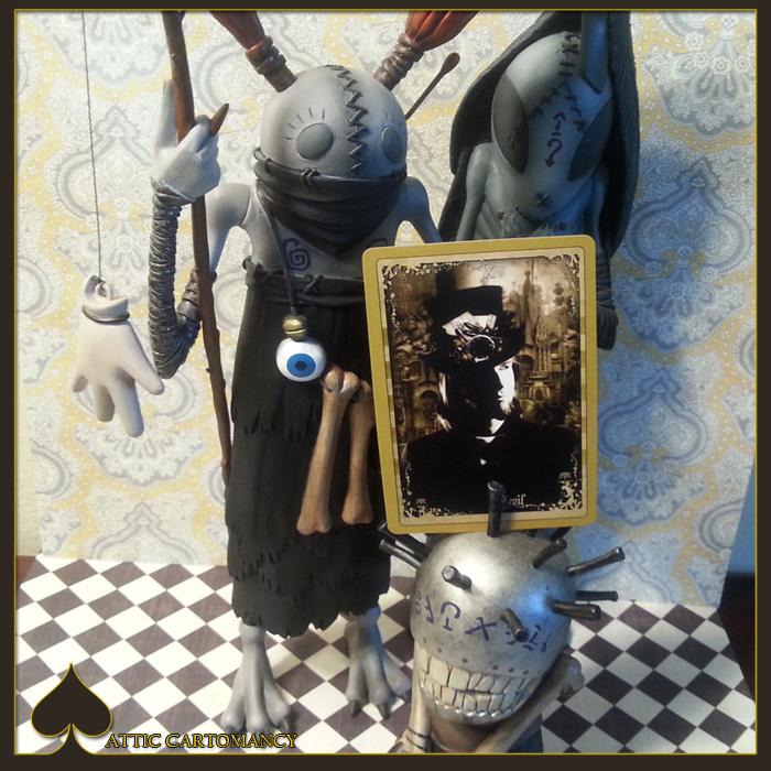 Attic Cartomancy - Card of the Day - The Black Ibis Devil