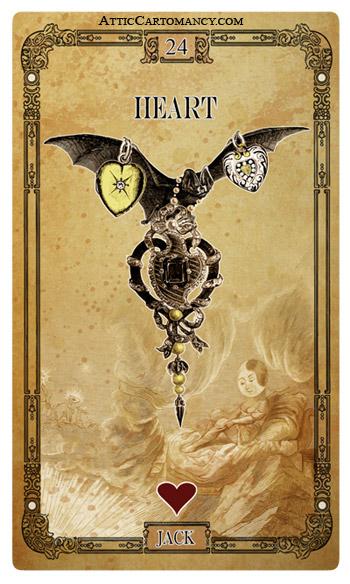 Attic Cartomancy - The Tea Bats Lenormand Deck - Second Edition