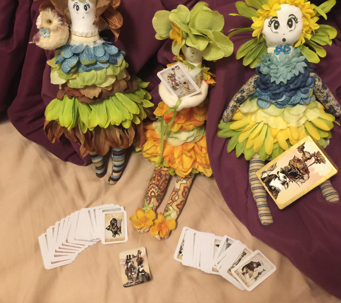 The Isidore Tarot Doll Size Deck