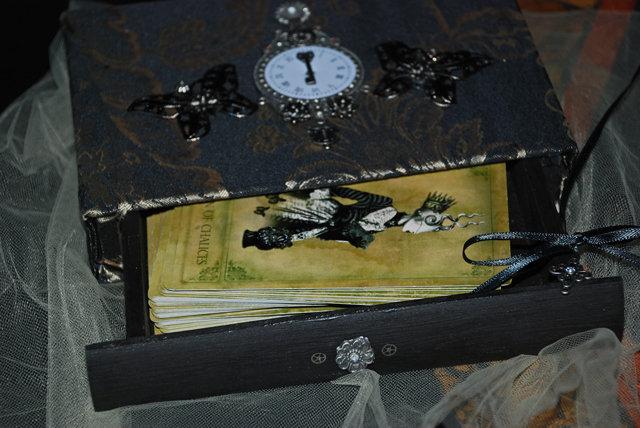 Sepia Stains Custom Box