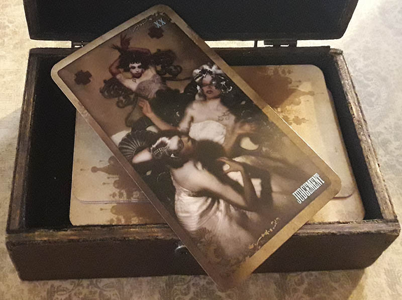 Attic Cartomancy - Custom Boxes - The Rabbit Box